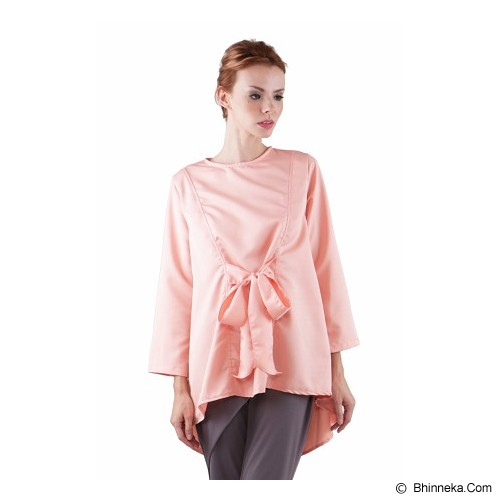 COVERING STORY Atasan Muslim Adhika Top [CS 223 E] - Peach - Blouse dan Tunik Wanita