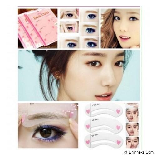KOBUCCA SHOP Cetakan Alis 3in1 - Eyebrow Color
