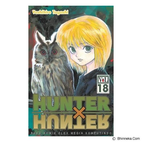 ELEX MEDIA KOMPUTINDO Hunter X Hunter vol. 18 - Craft and Hobby Book