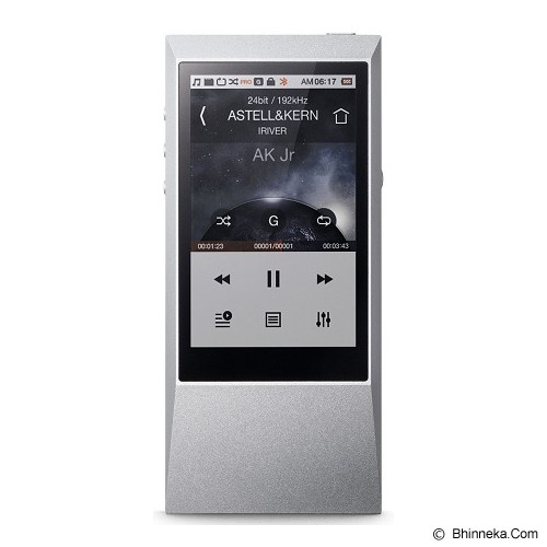ASTELL & KERN MP3 Player [AK Jr] - Sleek Silver - Mp3 Players