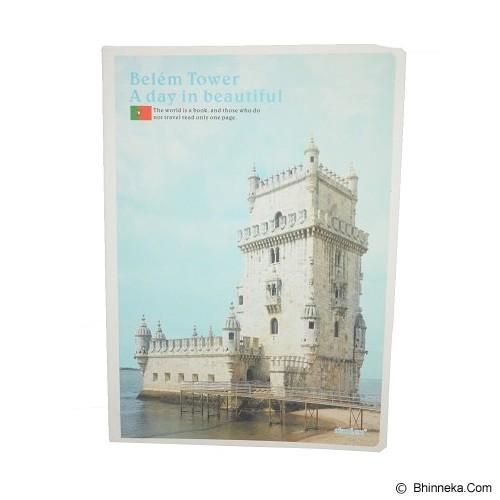 DAOLEN Writing Book Belem Tower B5 [JB156] (V) - Buku Tulis