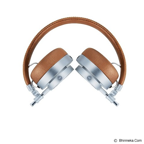 MASTER & DYNAMIC On Ear Headphone [MH 30] - Silver Metal Brown - Headphone Full Size