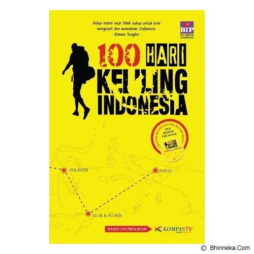 BHUANA ILMU POPULER 100 Hari keliling Indonesia - Craft and Hobby Book