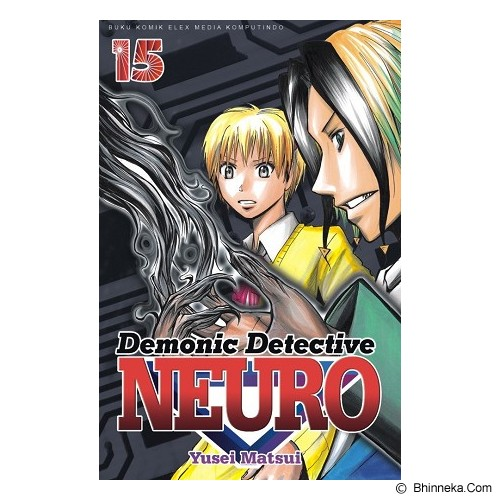 ELEX MEDIA KOMPUTINDO Demonic Detective Neuro Vol. 15 - Craft and Hobby Book