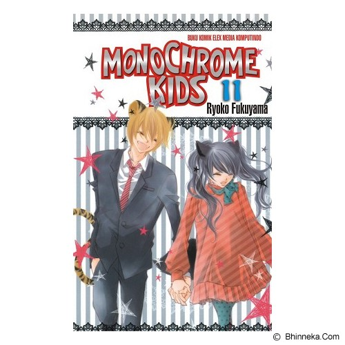 ELEX MEDIA KOMPUTINDO Monochrome Kids Vol. 11 - Craft and Hobby Book