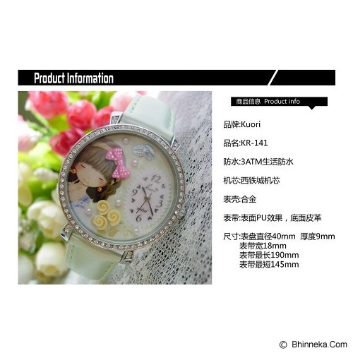 MINI KOREAN WATCH Smile Girl - Jam Tangan Wanita Fashion