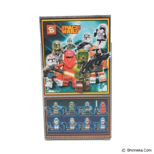 SZ Small Block Space Wars Series [SY265H] (V) - Building Set Movie