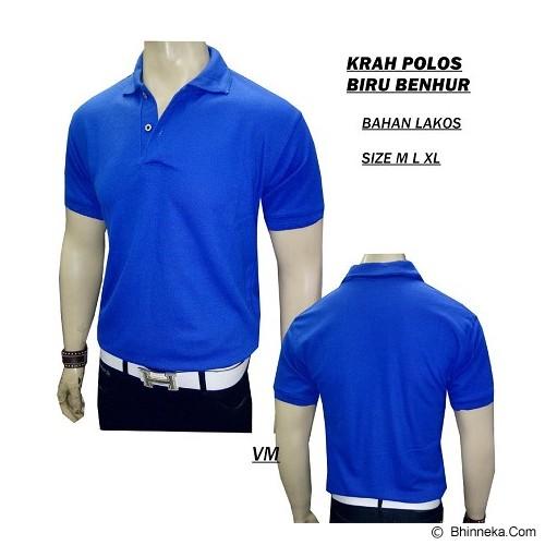 VANMARVELL Krah Polos Size M - Biru Benhur - Polo Pria