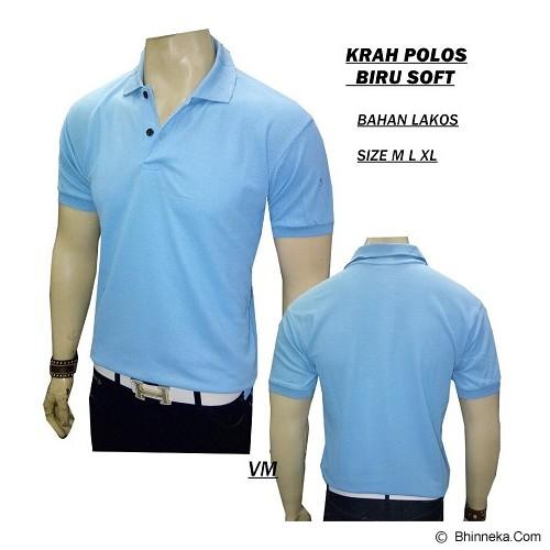 VANMARVELL Krah Polos Size L - Biru Soft - Polo Pria