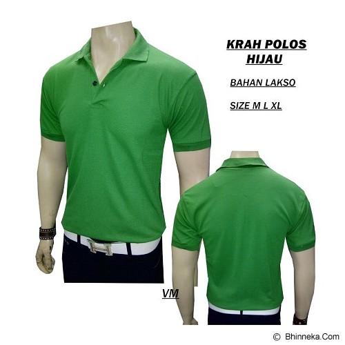VANMARVELL Krah Polos Size L - Hijau - Polo Pria