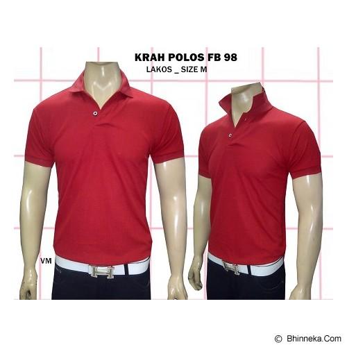 VANMARVELL Krah Polos Size M - Merah - Polo Pria