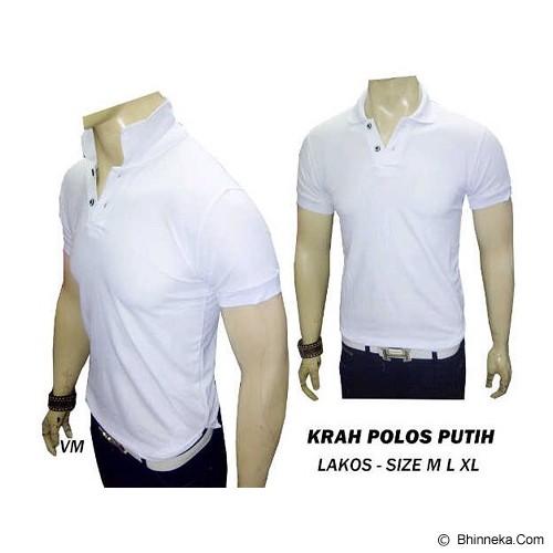 VANMARVELL Krah Polos Size XL - Putih - Polo Pria
