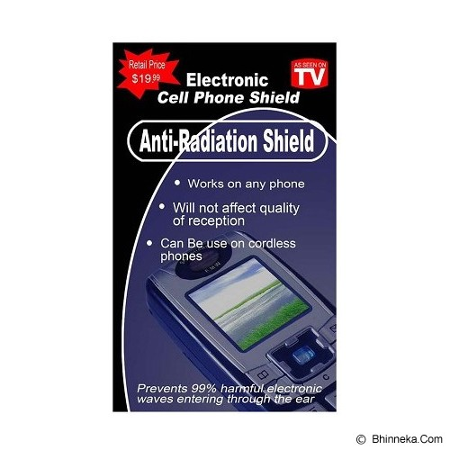 SILLY SHOP Stiker Anti Radiasi - Cellular Signal Repeater