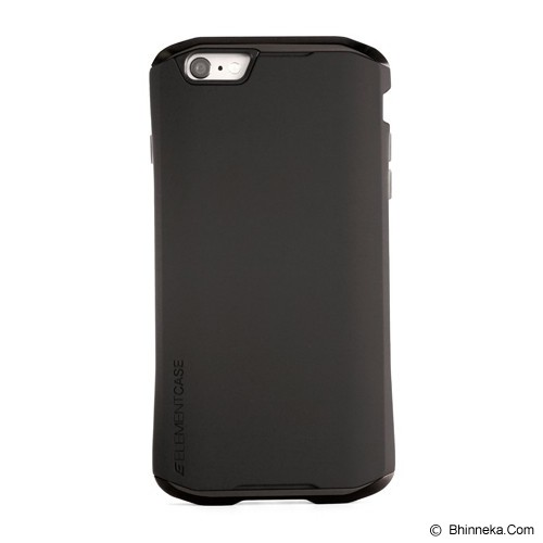 ELEMENT CASE Solace Chroma iPhone 6 Plus - Black/GunMetal - Casing Handphone / Case