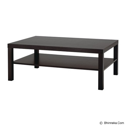 PRISSILA HOME LIVING Lack Coffee Table - Black - Meja Restoran