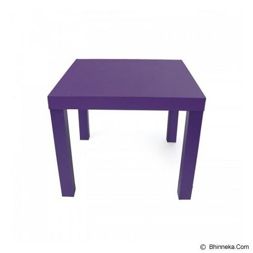 PRISSILA HOME LIVING Mesa Smile - Purple - Meja Restoran