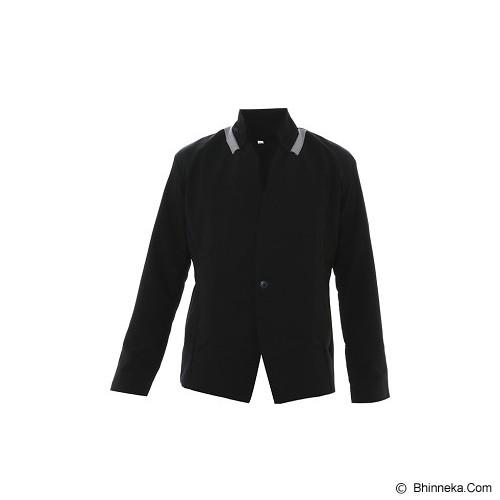 GOOG ON Korean Style Jacket Size S [K-55] - Black - Jaket Casual Pria