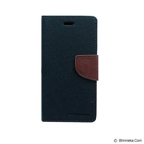 MERCURY GOOSPERY Sony Xperia ZR Case - Black/Brown - Casing Handphone / Case
