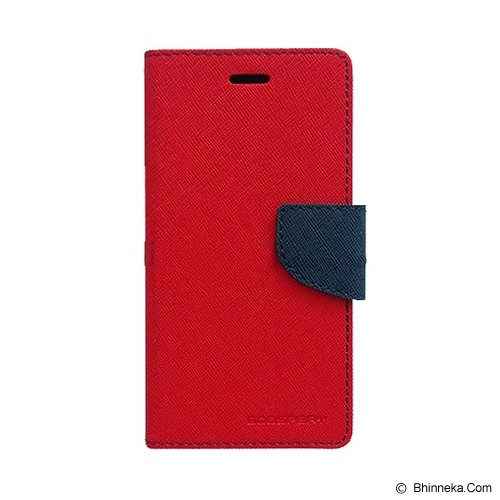 MERCURY GOOSPERY Sony Xperia ZR Case - Red/Navy - Casing Handphone / Case