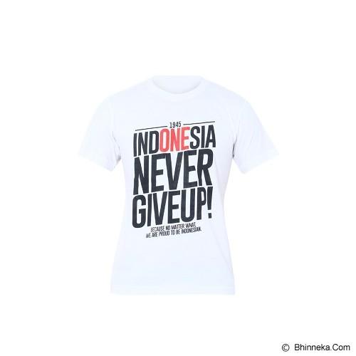 GOOG ON T-Shirt Garuda Indonesia Size M [INA-02] - White - Kaos Pria