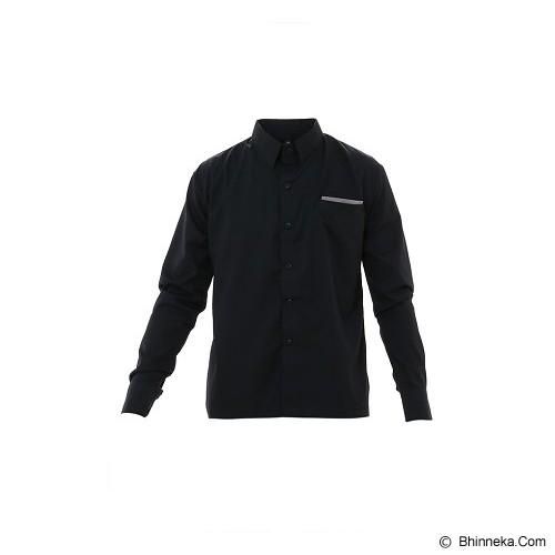 GOOG ON Shirt Korean Style Size S [K-63] - Black - Kemeja Lengan Panjang Pria