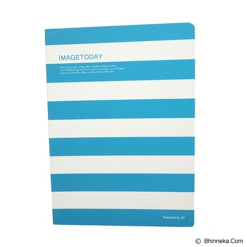 GUOPING STATIONERY Writing Book Image Today 26cm [16B916] - Blue (V) - Buku Tulis