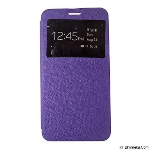 UME Flipshell View for Samsung Galaxy J1 [FC751N] - Purple - Casing Handphone / Case