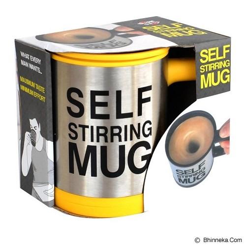 RAJA UNIK Self Stirring Mug - Yellow - Gelas
