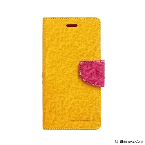 MERCURY GOOSPERY Oppo N1 Mini Case - Yellow/Hot Pink - Casing Handphone / Case