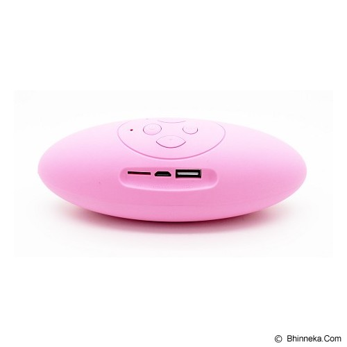 LACARLA Speaker Bluetooth Mini [X6U] - Pink - Speaker Bluetooth & Wireless