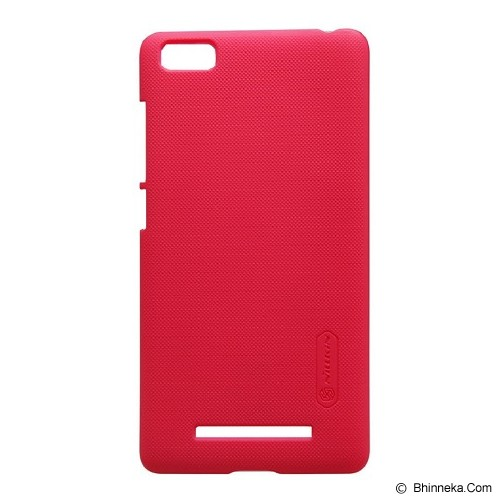 NILLKIN Frosted Shield For Xiaomi Redmi Mi4i - Red (Merchant) - Casing Handphone / Case