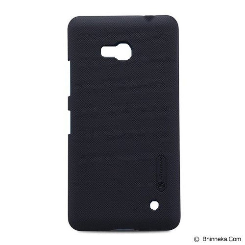 NILLKIN Frosted Shield For Microsoft Lumia 640 - Black - Casing Handphone / Case