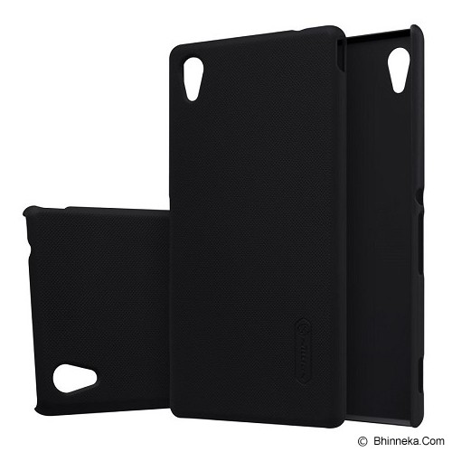 NILLKIN Frosted Shield For Sony Xperia M4 Aqua - Black - Casing Handphone / Case