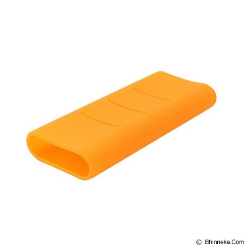 XIAOMI Silicone Powerbank 16000mAh - Orange - Casing Powerbank / Case