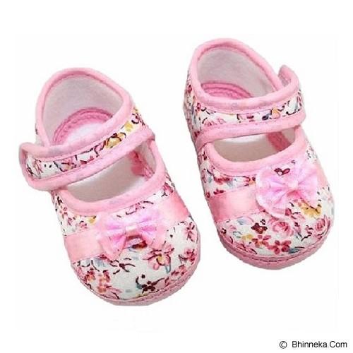 AXHL Prewalker Flower Pattern 12cm - Pink - Sepatu Anak