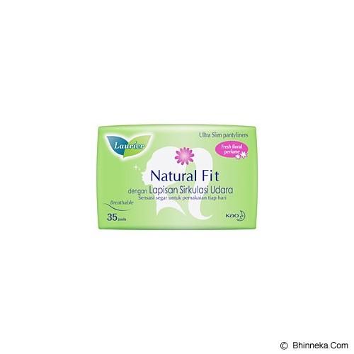 LAURIER Pantyliner Natural Fit Parfum 35pcs [405396] - Pembalut Wanita