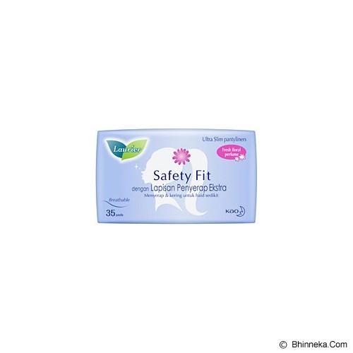 LAURIER Pantyliner Safety Fit Parfum 35pcs [405398] - Pembalut Wanita