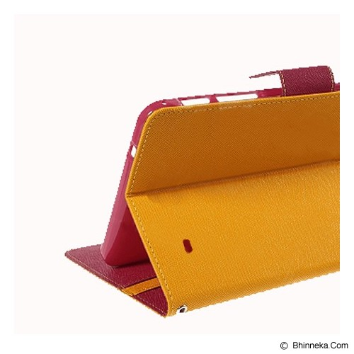 MERCURY GOOSPERY Apple iPad Mini Case - Yellow Hot Pink - Casing Tablet / Case