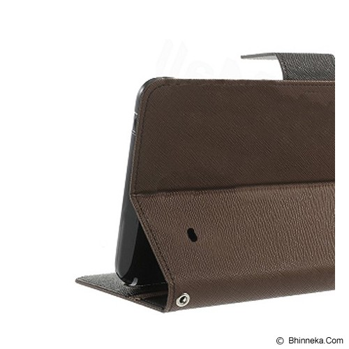 MERCURY GOOSPERY Samsung Galaxy Tab 2 Case - Brown/Black - Casing Tablet / Case