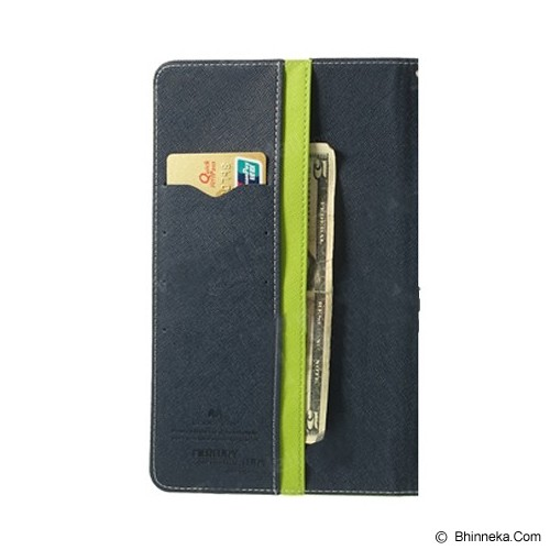 MERCURY GOOSPERY Samsung Galaxy Tab 2 Case - Lime/Navy - Casing Tablet / Case