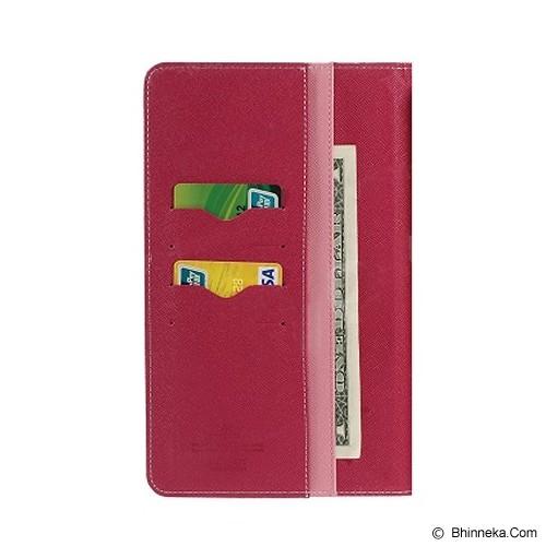 MERCURY GOOSPERY Samsung Galaxy Tab 4 7.0 Case - Pink/Hot Pink - Casing Tablet / Case