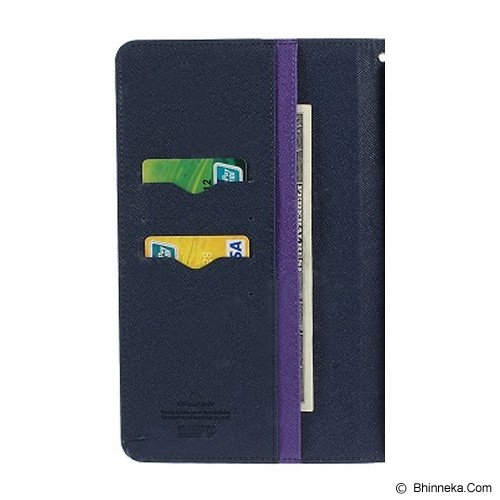 MERCURY GOOSPERY Samsung Galaxy Tab 4 8.0 Case - Purple/Navy - Casing Tablet / Case