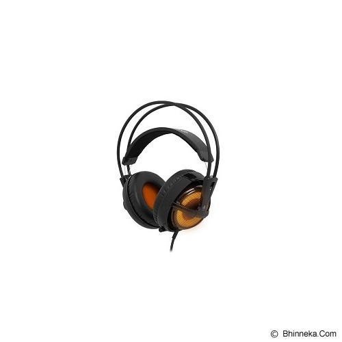 STEELSERIES Siberia Full-Size Headset V2 USB - Heat Orange (Merchant) - Gaming Headset