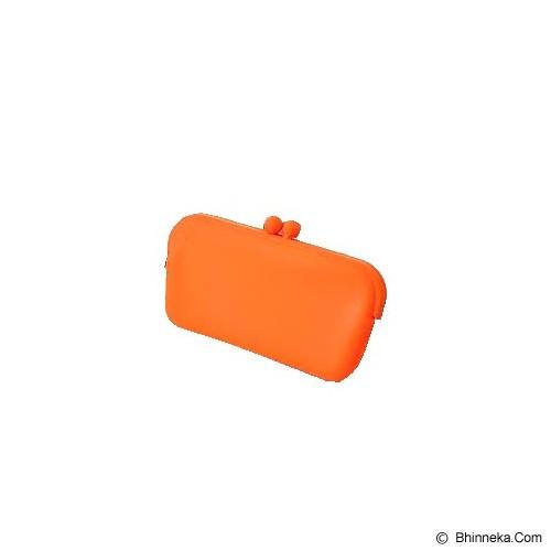 LTISHOP Dompet Paspor Silikon - Orange - Dompet Wanita