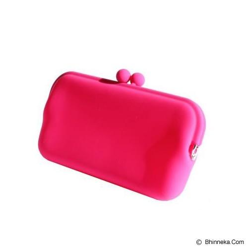 LTISHOP Dompet Paspor Silikon - Pink - Dompet Wanita