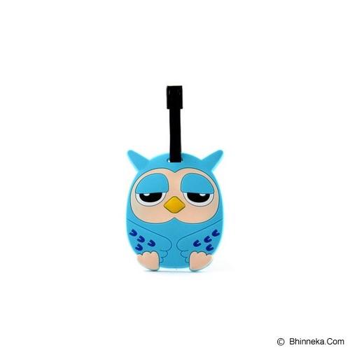 LTISHOP Luggage Tag Owl - Blue - Name Tag Tas / Luggage Tag
