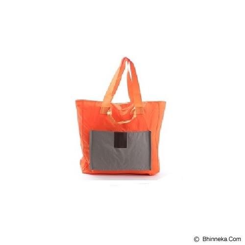 ICONIC Two Way Foldable Shopping Bag - Orange - Tas Tangan Wanita