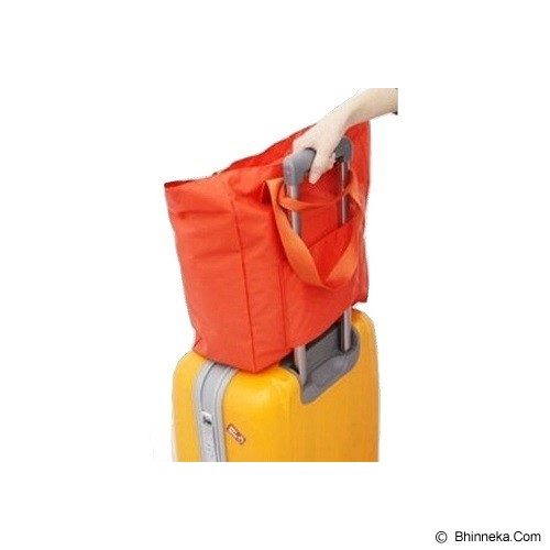 ICONIC Two Way Foldable Shopping Bag - Orange - Tas Tangan Wanita