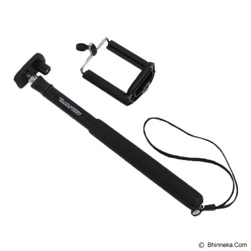 TRANSVIEW Tongsis With Universal Holder - Black - Gadget Monopod / Tongsis