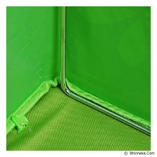 FIRST PROJECT Steel Frame Oxford Storage Box - Green - Container